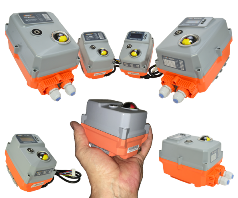 The AVA range of compact valve actuators