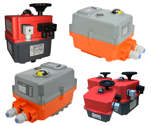 Various electric valve actuators