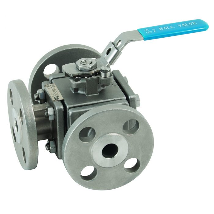 3 Way 1000 Stainless Steel Ball Valves Manual Guide
