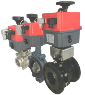 J+J Electric Valve Actuators