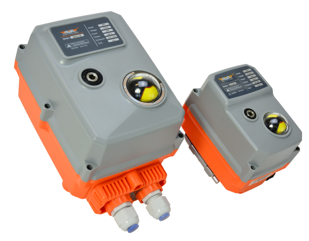 AVA Electric Actuator Failsafe Basic Compact Size