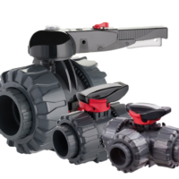 FIP VKD lever PVC ball valves