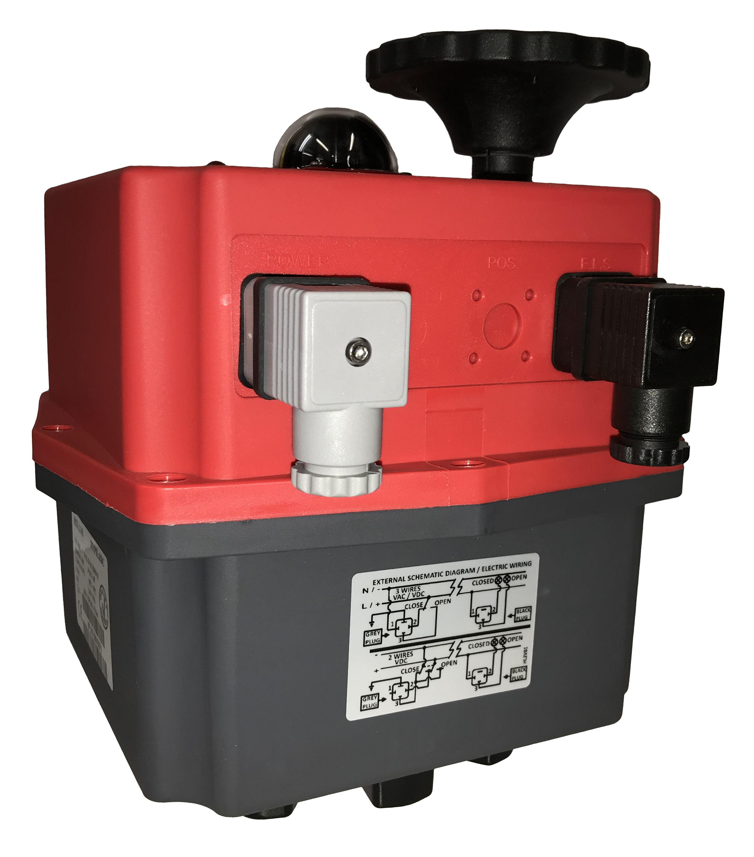 J+J Smart Electric Actuator Type J3C