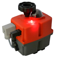 J + J Smart electric actuator - J3CS BSR - Battery Back-Up Failsafe - LED status light
