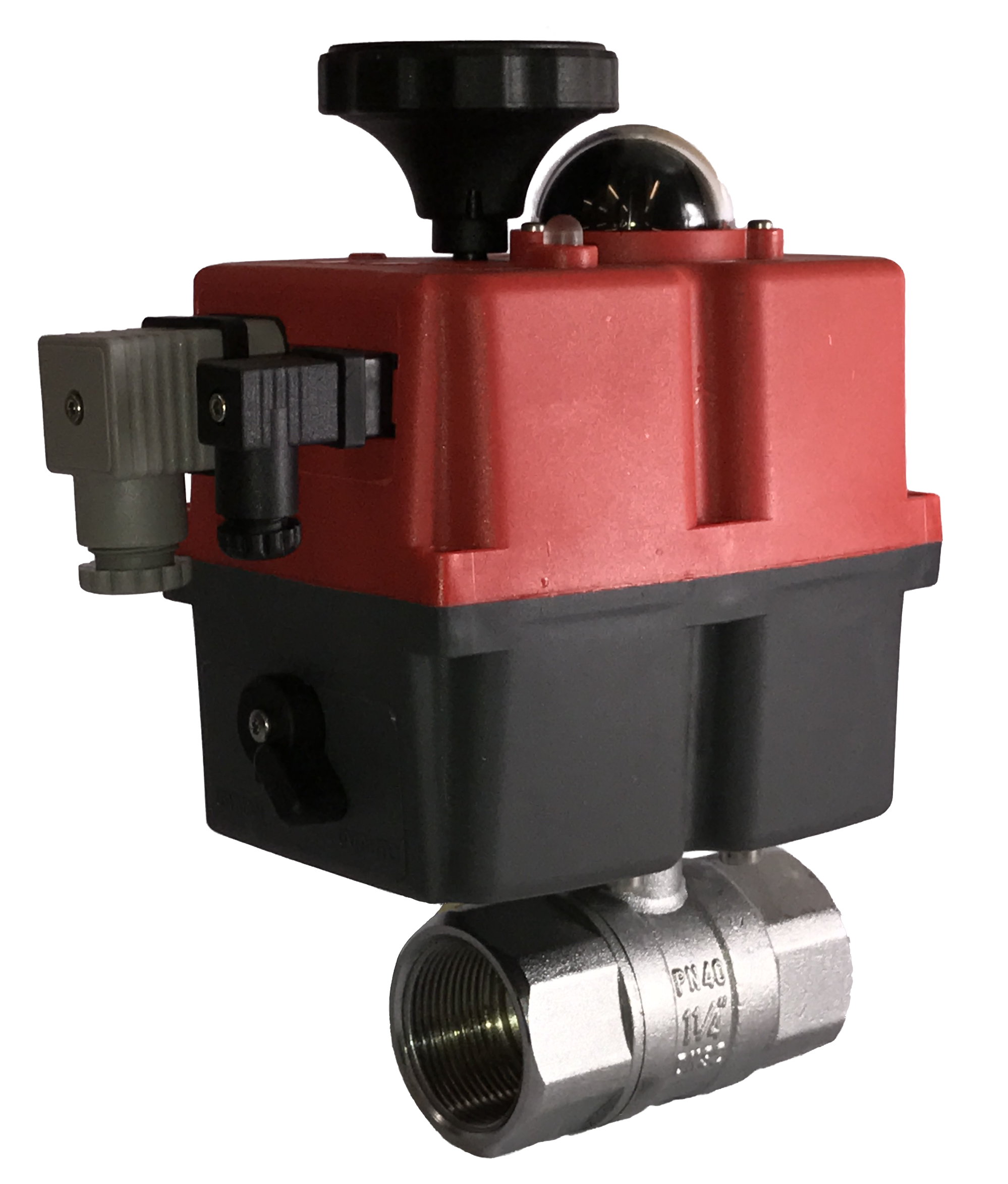 Banjo Electric 3 Way Directional Ball Valve: Electric Brass Ball Valve With J+J Actuator For General