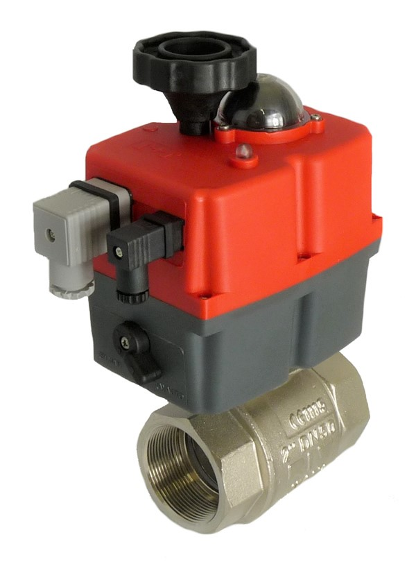 Motorized Brass Ball Valve with J+J Electric Actuator