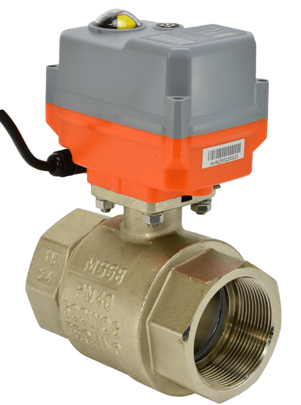 Motorised Brass Ball Valves