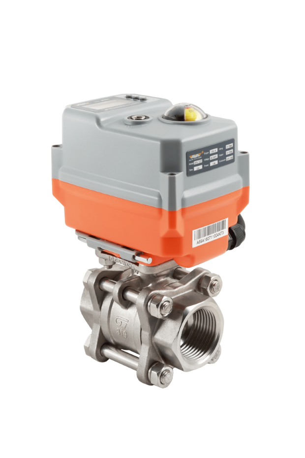 Banjo Electric 3 Way Directional Ball Valve: Electric Stainless Steel Ball Valve With AVA Smart