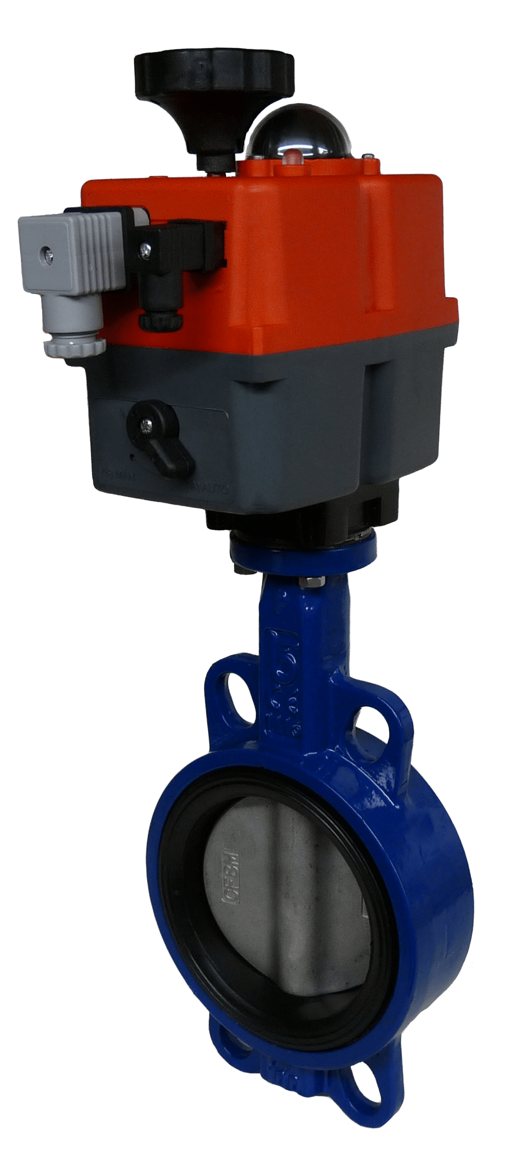 General Service Electric On-Off Iron Butterfly Valves with J3CS Electric Actuator