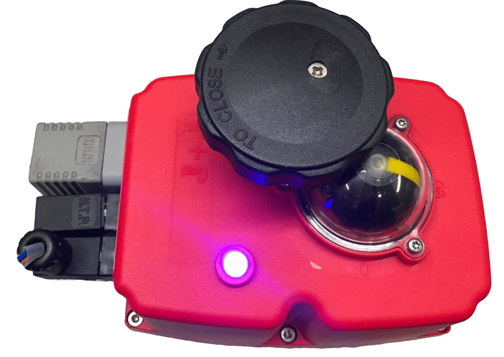 J + J Smart electric actuator - J3CS BSR DPS - Failsafe Modulating - LED status light