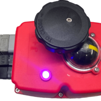 J + J Smart electric actuator - J3CS DPS - Modulating With Positioner - LED status light