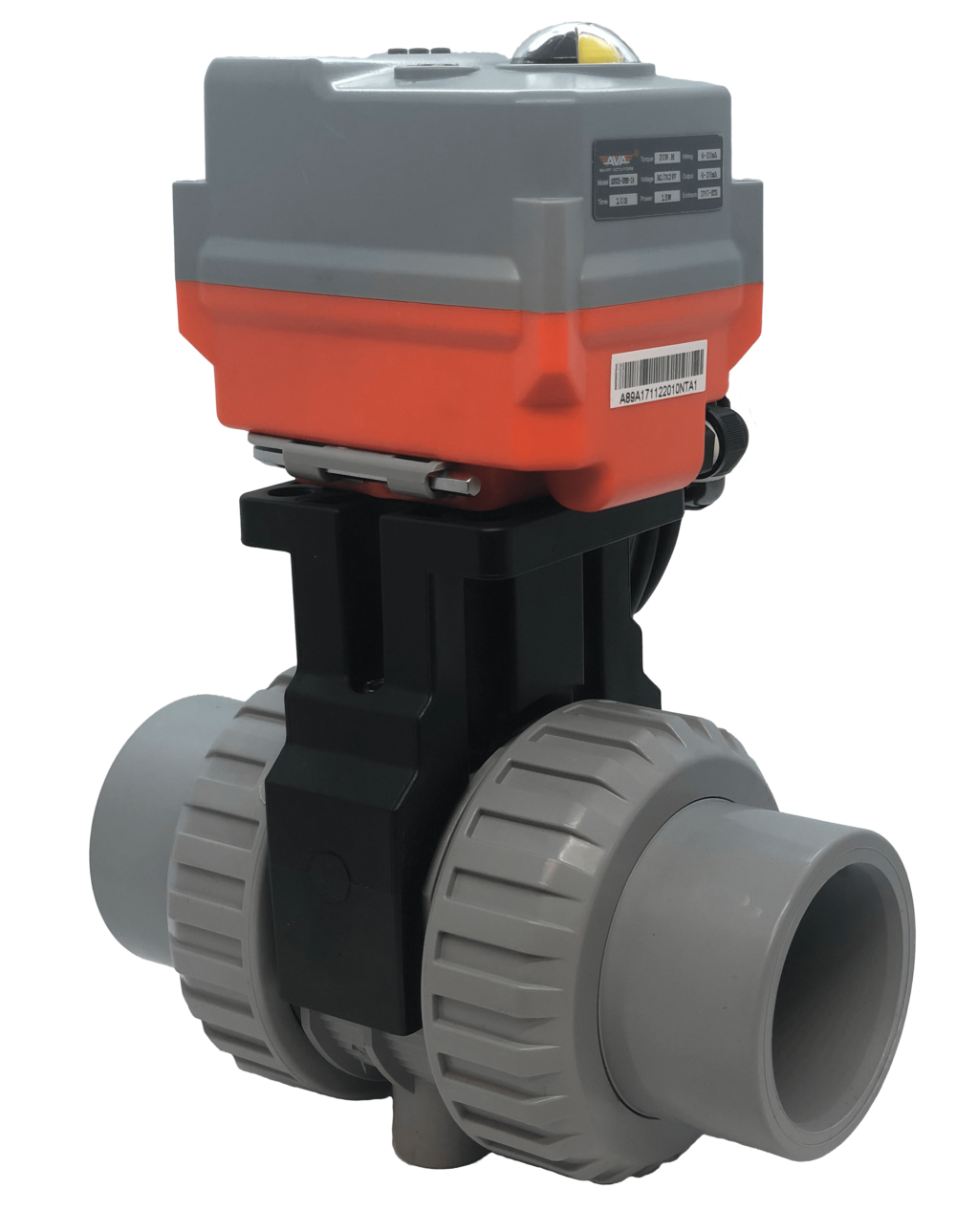 Cepex Extreme Motorized CPVC Ball Valve with AVA Electric Actuator from AVS