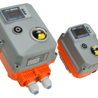 AVA Smart electric actuator failsafe modulating-4-20mA, compact with LED screen