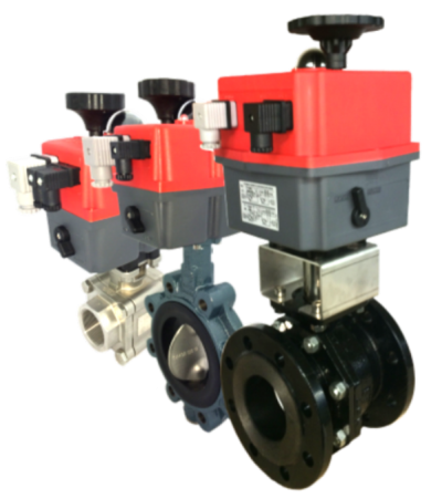 J and J Actuated Valves