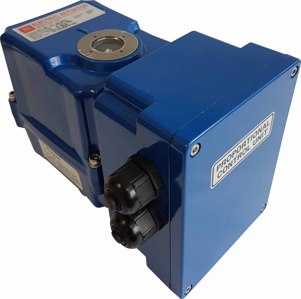 HQ Electric Actuator - HQ004-006 Series - Proportional Control