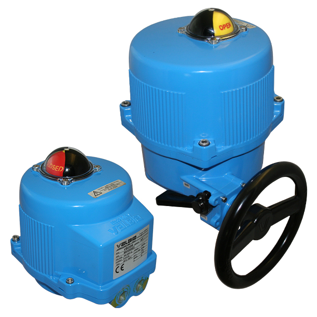 Modulating Valbia electric actuator with Aluminum housing