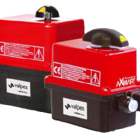 Valpes ER-Premier on-off electric actuator with plastic housing