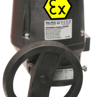 Valpes VRX-VSX Exd electric actuator with on-off function