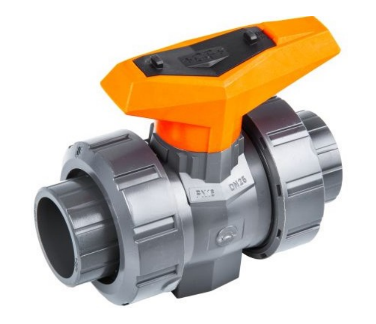 Double Union Plastic-Ball Valve