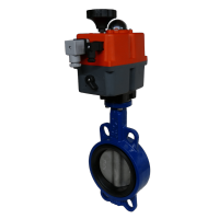 Wafer Pattern WRAS Motorised Butterfly Valves