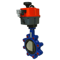 Lugged WRAS Motorised Butterfly Valves