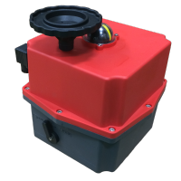 J2-L300 On Off Electric Actuator Maximum 350Nm for 24V
