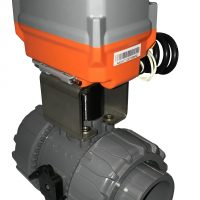 Motorised Plastic Ball Valves
