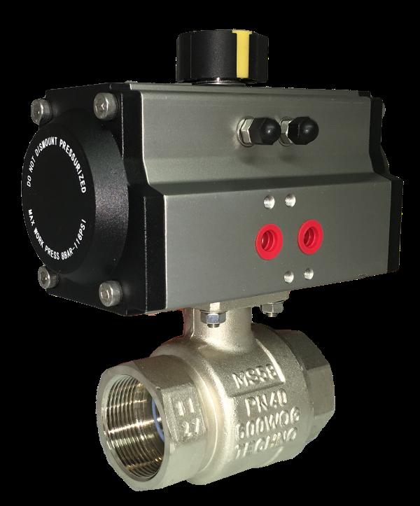 CHC-1100 pneumatic actuator.