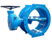 Double Eccentric Ductile Iron Butterfly Valve with DIN PN-40