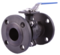 2pc PN-16 Cast Steel, Flanged Ball Valve - Class 150