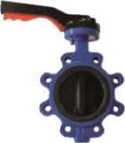 PN16 Lugged Stainless Steel Butterfly Valve for PN-10/16 Flanges