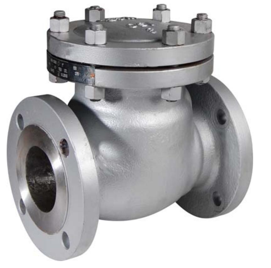 V7700V swing check valve